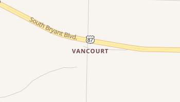 Vancourt, Texas map