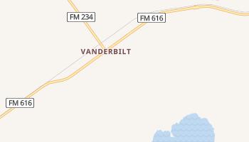 Vanderbilt, Texas map