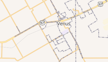 Venus, Texas map