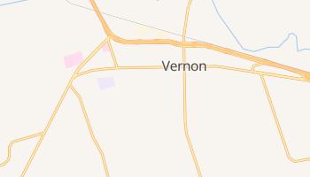 Vernon, Texas map