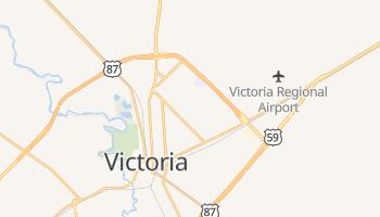 Victoria, Texas map