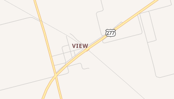 View, Texas map