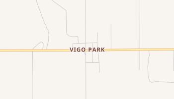 Vigo Park, Texas map