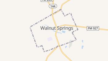 Walnut Springs, Texas map