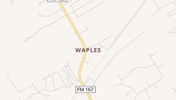Waples, Texas map
