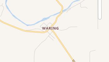Waring, Texas map