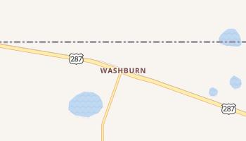 Washburn, Texas map