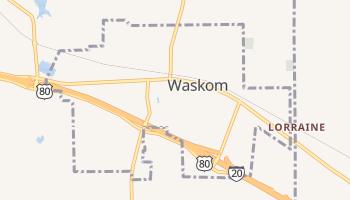 Waskom, Texas map
