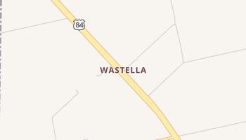Wastella, Texas map