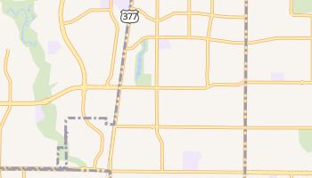 Watauga, Texas map