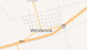 Westbrook, Texas map