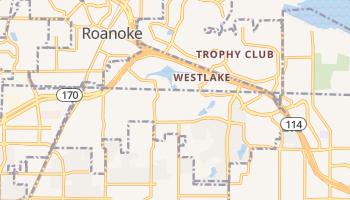 Westlake, Texas map