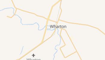 Wharton, Texas map