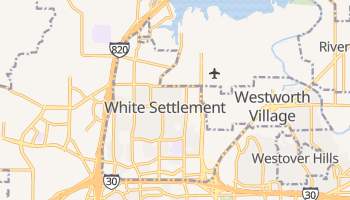 White Settlement, Texas map