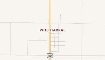 Whitharral, Texas map