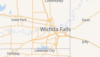 Wichita Falls, Texas map