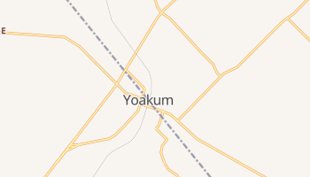 Yoakum, Texas map