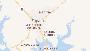 Zapata, Texas map