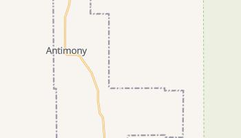 Antimony, Utah map