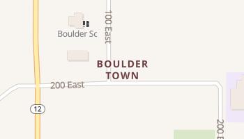 Boulder Town, Utah map