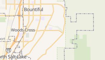 Bountiful, Utah map