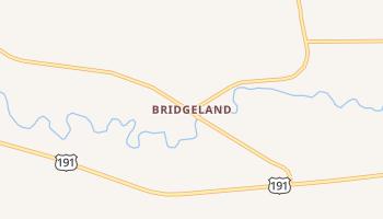 Bridgeland, Utah map