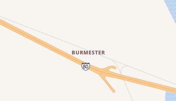 Burmester, Utah map