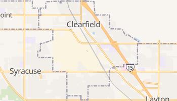 Clearfield, Utah map