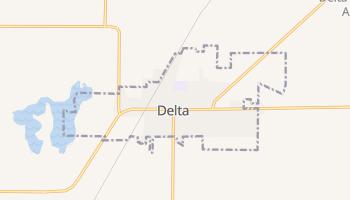 Delta, Utah map