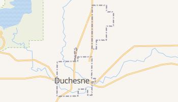 Duchesne, Utah map
