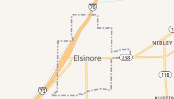 Elsinore, Utah map