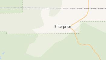 Enterprise, Utah map