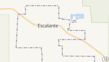 Escalante, Utah map