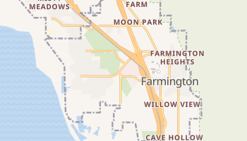 Farmington, Utah map