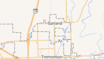 Garland, Utah map