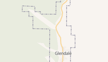 Glendale, Utah map