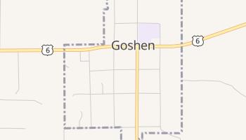 Goshen, Utah map