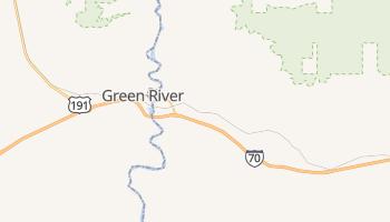Green River, Utah map