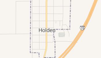 Holden, Utah map