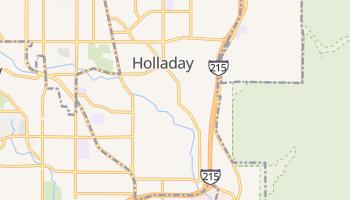 Holladay, Utah map