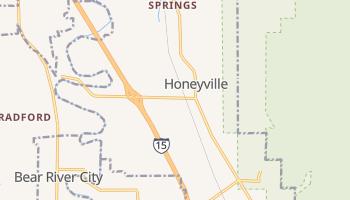 Honeyville, Utah map