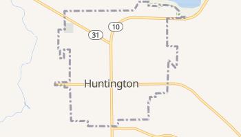 Huntington, Utah map