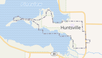 Huntsville, Utah map