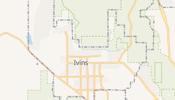 Ivins, Utah map