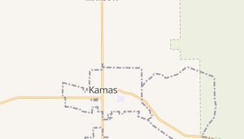 Kamas, Utah map