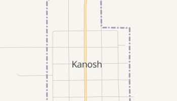 Kanosh, Utah map