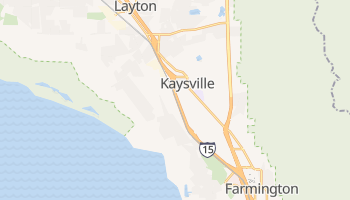 Kaysville, Utah map