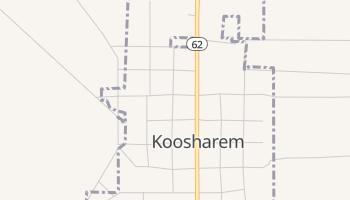 Koosharem, Utah map