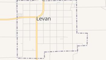 Levan, Utah map