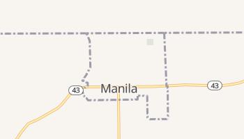 Manila, Utah map